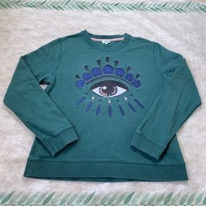 Kenzo Paris Seeing Eye Crewneck Sweater
